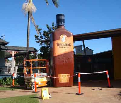 Bundaberg Rum cleaning contract